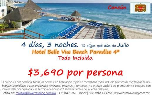 Julio a Cancún